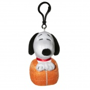 Snoopy in Space Snoopy in Sleeping Bag Clipster Plush