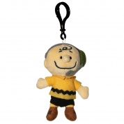 Snoopy in Space Charlie Brown Mission Control Clipsters Plush