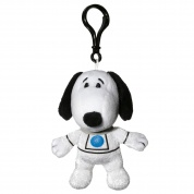 Snoopy in Space Snoopy White Astronaut Suit Clipsters Plush