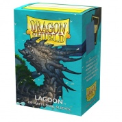 Dragon Shield Dual Matte Sleeves - Lagoon 'Saras' (100 Sleeves)