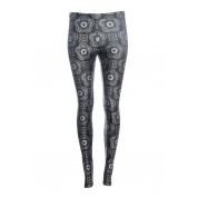 Black MTG Symbol Leggings