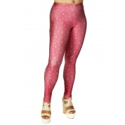 MTG Symbol Rose Red Leggings