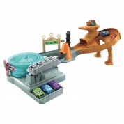 Disney Pixar Cars Mini Racers Radiator Springs Spin Out! Spielset