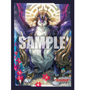 Bushiroad Cardfight!! Vanguard overDress Mini Sleeve Collection Magnolia, King of the Jujaku Beasts Display (12 Packs)