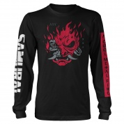 Cyberpunk 2077 A Cool Metal Fire Long Sleeve Tee