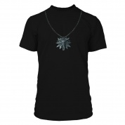 The Witcher 3 Wolf School Medallion Premium Tee