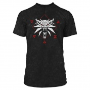 The Witcher 3 Wolf Signs Premium Tee