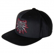 The Witcher 3 Black Wolf Snap Back Hat