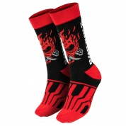 Cyberpunk 2077 Samurai On the Run Socks