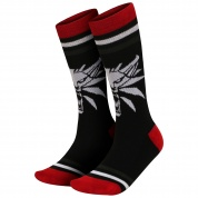 The Witcher 3 White Wolf Socks