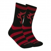 World of Warcraft Horde Core Socks
