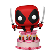 Funko POP! Deadpool 30th - Deadpool in Cake Vinyl Figure 10cm
