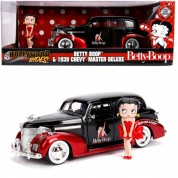 Betty Boop 1939 Chevy Master Deluxe 1:24