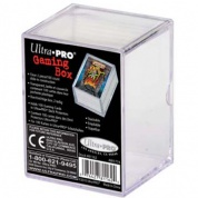 UP - Sliding Storage Box - 100 Cards - Clear