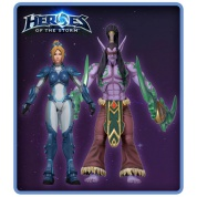 "Blizzard's Heroes Of The Storm Series 1 - 7"" Scale Action Figures Assortment (8)"