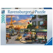 Ravensburger - Romantische Abendstunde in Paris 2000pc