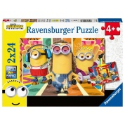 Ravensburger - Die Minions in Aktion 2x24pc