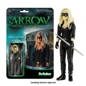 Funko ReAction Arrow - Black Canary Vinyl Figure 10cm