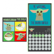Pyramid 2022 Calendar - Star Wars: The Mandalorian (The Child) Square
