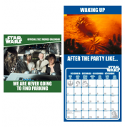 Pyramid 2022 Calendar - Star Wars (Iconic Races) Square