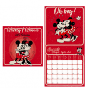 Pyramid 2022 Calendar - Mickey and Minnie Mouse Square