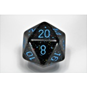 Chessex Speckled 34mm 20-Sided Dice - Blue Stars