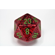 Chessex Speckled 34mm 20-Sided Dice - Strawberry