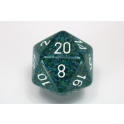 Chessex Speckled 34mm 20-Sided Dice - Sea