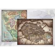 "D&D - Out of the Abyss Map Set (23""x16"", 20""x16"")"