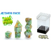 Aether Dice Ork York (7 Dice Set)