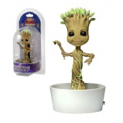 Marvel Guardians Of The Galaxy - Dancing Groot Solar Powered Body Knocker 15cm