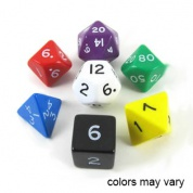 Koplow - Opaque Polyhedral: Assorted Set (7 Dice)