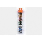 Koplow - Glitter Poly Set: Assorted Colors (7 Dice)