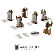 Warcradle Scenics: Tech City - Objective Markers