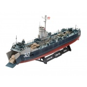 US Navy Landing Ship Medium (Bofors 40 mm gun) (1:144) - EN/DE/FR/NL/ES/IT