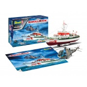 SAR Set - DGzRS BERLIN + Westland SeaKing Mk.41 (1:72) - EN/DE/FR/NL/ES/IT