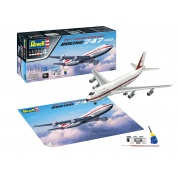 Boeing 747-100, 50th Anniversary (1:144) - EN/DE/FR/NL/ES/IT