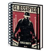 Call of Duty: Black Ops Cold War (Classified) A5 Wiro Notebook