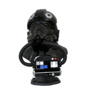 STAR WARS LEGENDS IN 3D TIE PILOT 1/2 SCALE BUST