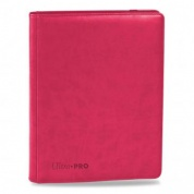 UP - Premium Pro-Binder - 9-Pocket Portfolio - Bright Pink