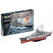 Battleship BISMARCK (1:350) - EN/DE/FR/NL/ES/IT