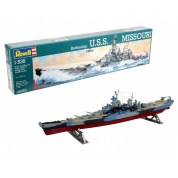 Battleship USS MISSOURI (1:535) - EN/DE/FR/NL/ES/IT