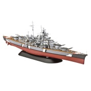Battleship BISMARCK (1:700) - EN/DE/FR/NL/ES/IT