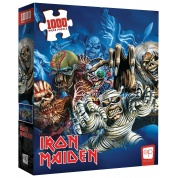 "Iron Maiden ""The Faces of Eddie"" 1000-Piece Puzzle"