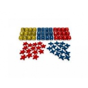 Europe Divided - Wooden Dice and Meeples Set