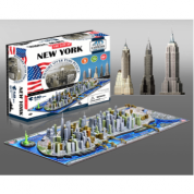 4D Cityscape - New York, USA Puzzle (damaged box)