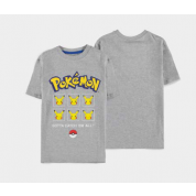 Pokémon - Pika Expressions - Boys Core Short Sleeved T-shirt