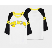 Pokémon - Running Pika - Girls 3/4 Sleeve T-shirt