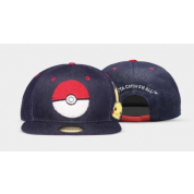 Pokémon - Denim Snapback Cap