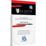 Paladin Sleeves - Arthur Premium Mini European 45x68mm (55 Sleeves)